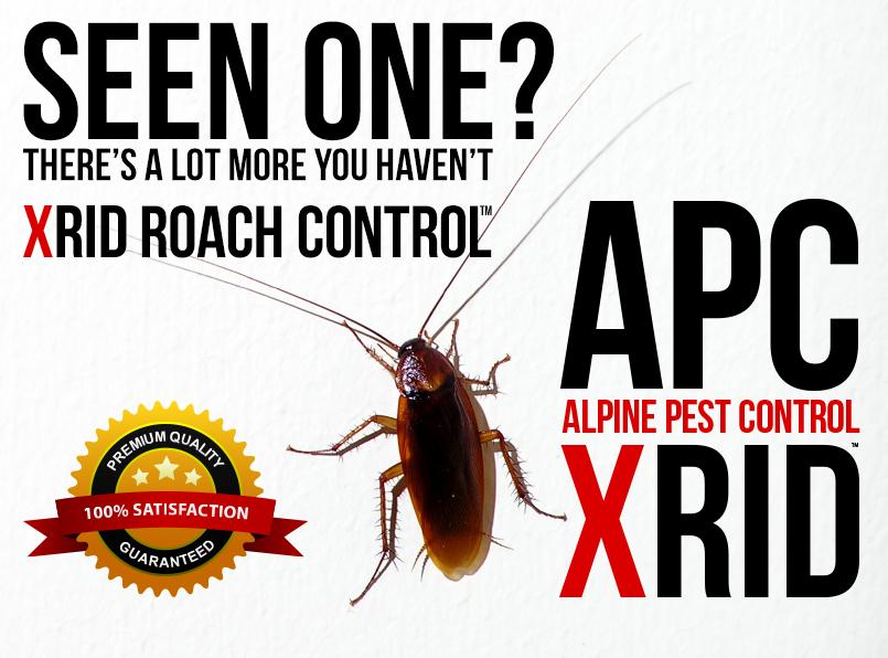 APC ALPINE PEST CONTROL XRID ROACH CONTROL